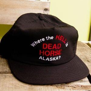 Vintage Dead Horse Alaska Hat